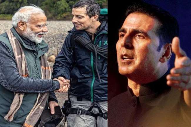 Akshay Kumar Applauds Pm Narendra Modi In Man Vs Wild Show Aired Today On Discovery