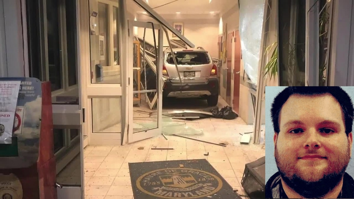 Who is Timothy Kahl? Timothy Kahl Rammed His Car Into Havre de Grace The Police Station!