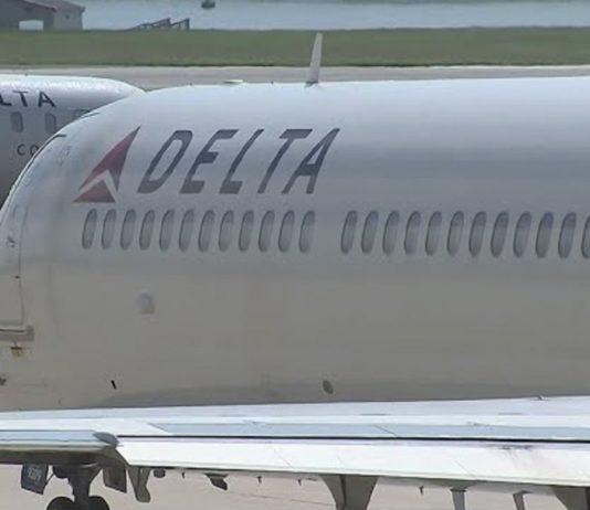 Delta Flight Video