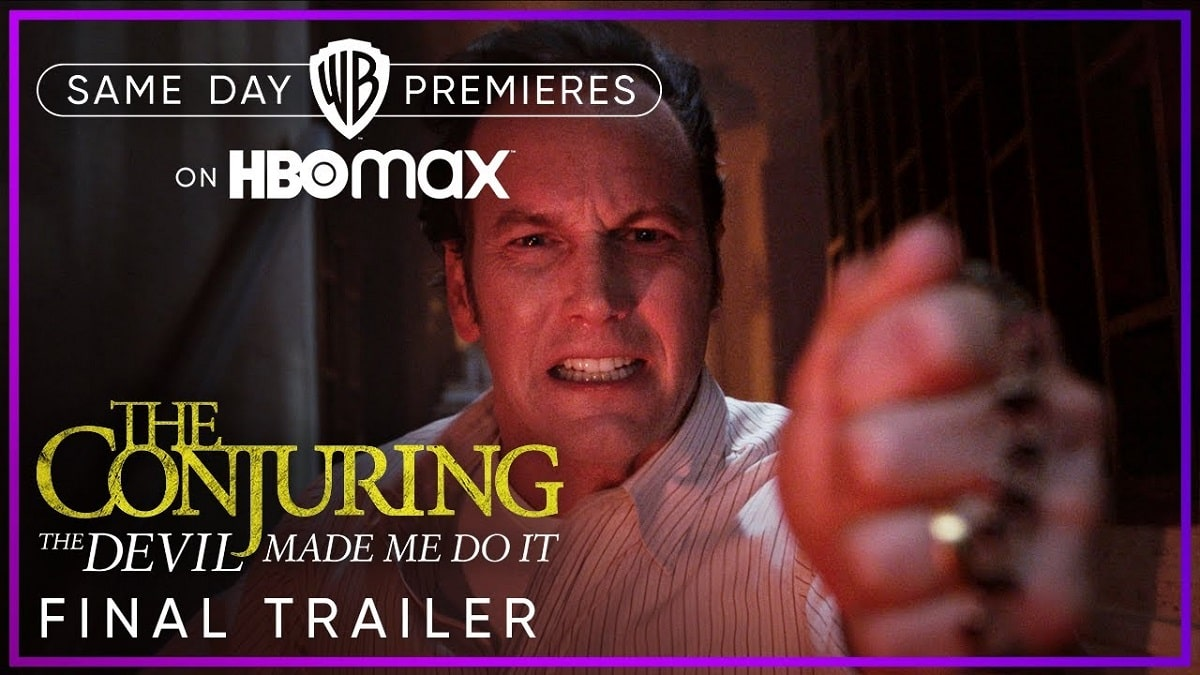 The Conjuring 3 Movie Release Date On HBO Max