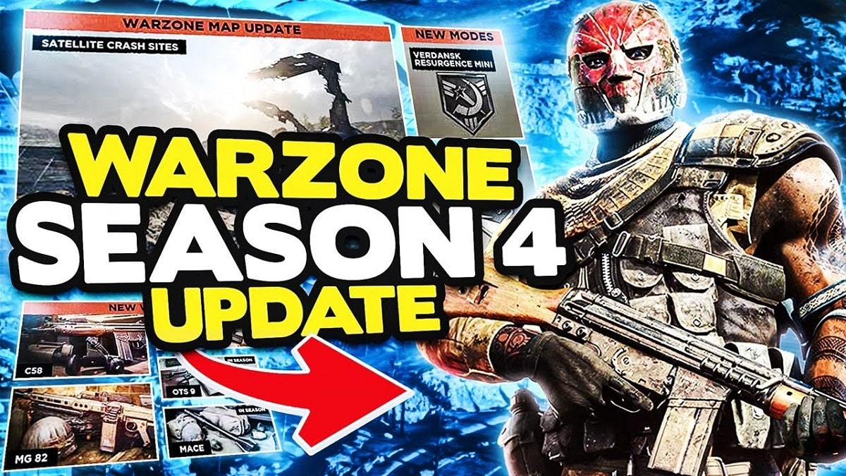 Warzone Season 4 Update Patch Notes