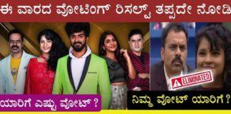 Bigg Boss Kannada Season 8 Voting Results