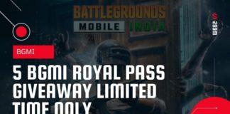 PUBG Mobile Season 19 C1S1 Royal Pass Giveaway