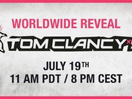 Ubisoft Tom Clancy Game Reveal