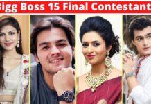 Bigg Boss 15 Contestants List 2021 With Photos