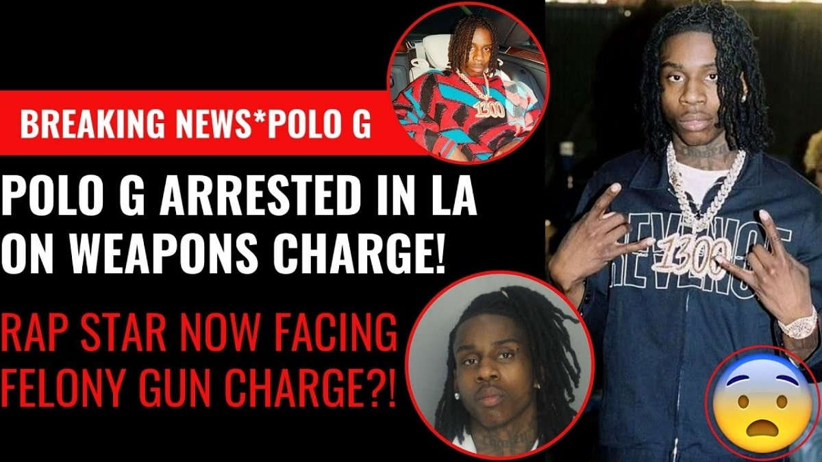 POLO G arrested