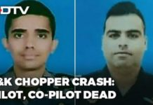 Udhampur Army Helicopter Crash