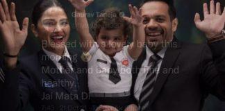 Gaurav Taneja Second Child